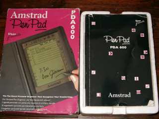 PenPad box and manual