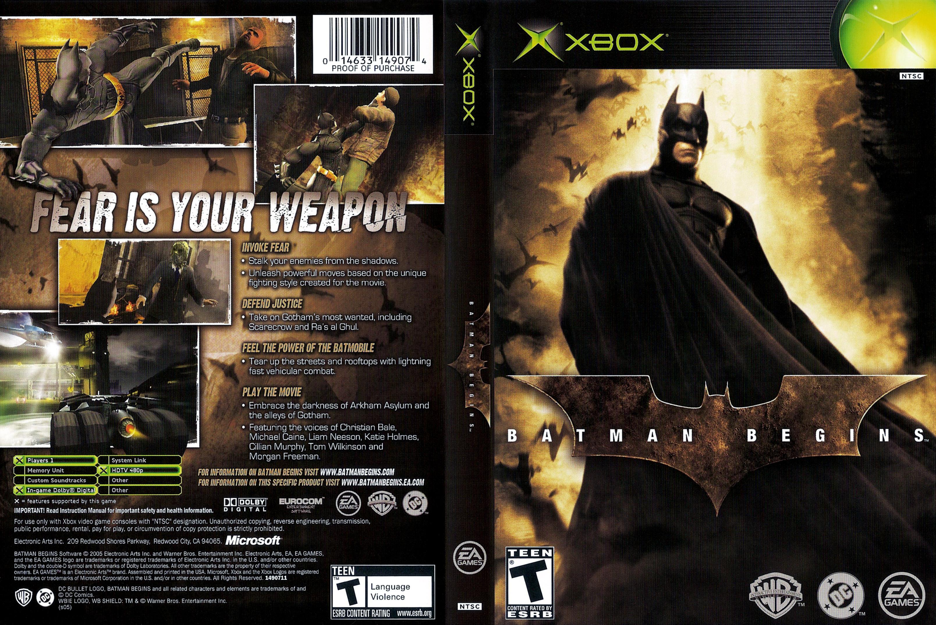 Microsoft Xbox - Lista de juegos y Hardware